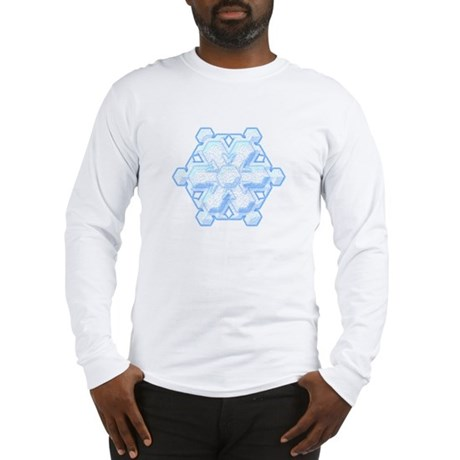 Flurry Snowflake VIII Long Sleeve T-Shirt