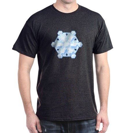 Flurry Snowflake VIII Dark T-Shirt