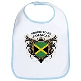 Proud to be Jamaican Bib