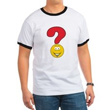 Smiley Face Question Mark Design T