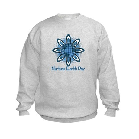 Nurture Earth Day Kids Sweatshirt