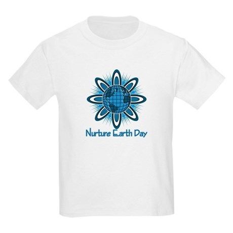 Nurture Earth Day Kids Light T-Shirt