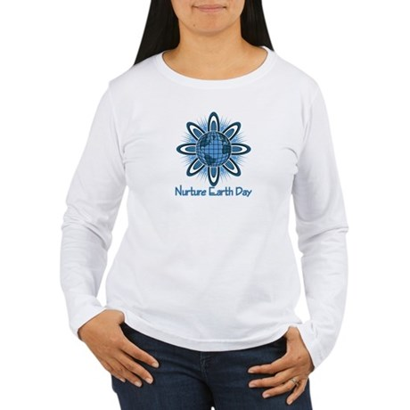 Nurture Earth Day Women's Long Sleeve T-Shirt