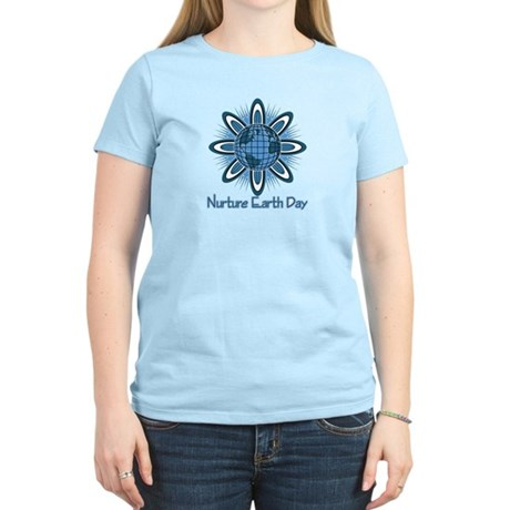 Nurture Earth Day Women's Light T-Shirt