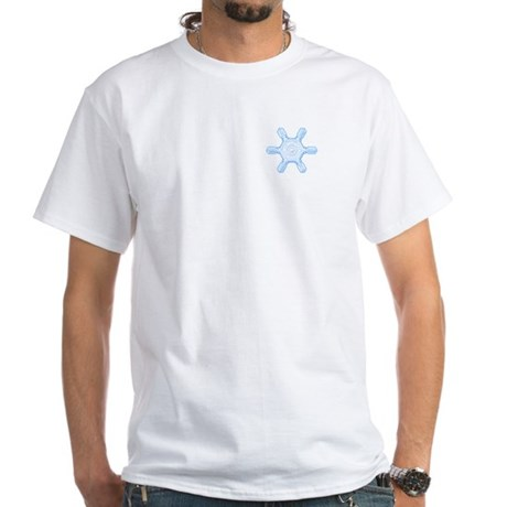 Flurry Snowflake VII White T-Shirt
