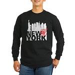 New York Long Sleeve Dark T-Shirt