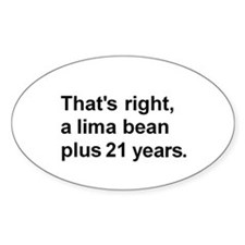 Lima Bean? Decal