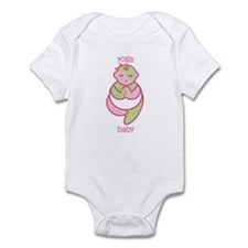 Yoga Baby : Pink & Green Infant Bodysuit