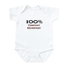 100 Percent Company Secretary Onesie