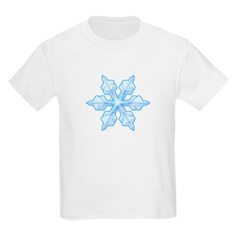 Flurry Snowflake VI Kids Light T-Shirt