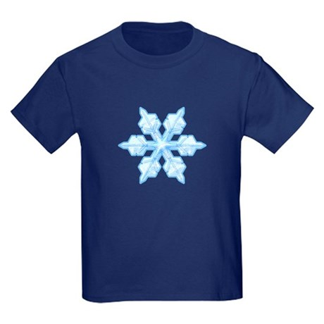 Flurry Snowflake VI Kids Dark T-Shirt