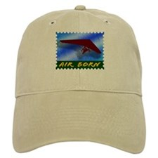 Hang Gliding Stamp Baseball Cap