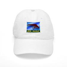 Hang Gliding Stamp Baseball Cap