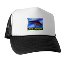 Hang Gliding Stamp Trucker Hat