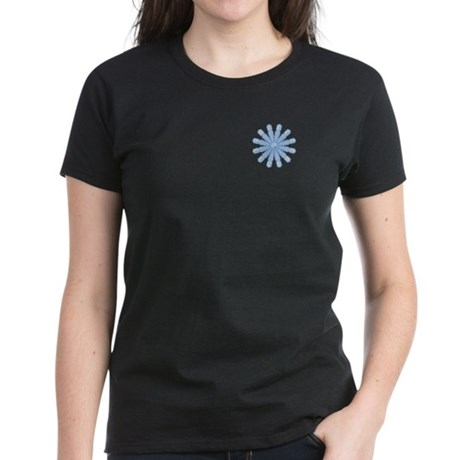 Flurry Snowflake V Women's Dark T-Shirt