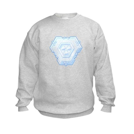 Flurry Snowflake IV Kids Sweatshirt