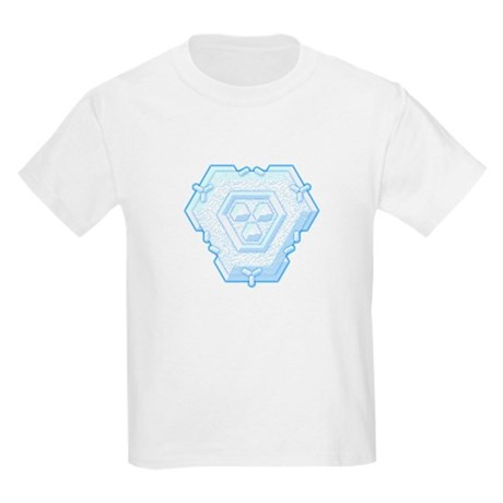Flurry Snowflake IV Kids Light T-Shirt