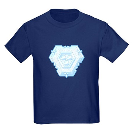 Flurry Snowflake IV Kids Dark T-Shirt