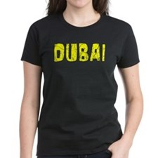 Dubai Faded (Gold) Tee