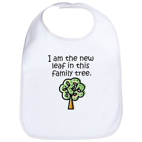 New leaf in family tree - Bib