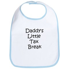 Daddy's Little Tax Break - Bib