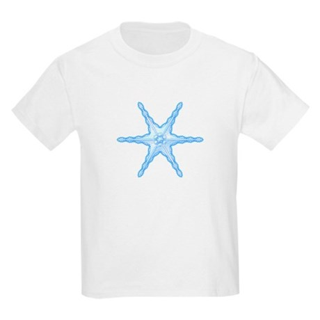 Flurry Snowflake III Kids Light T-Shirt