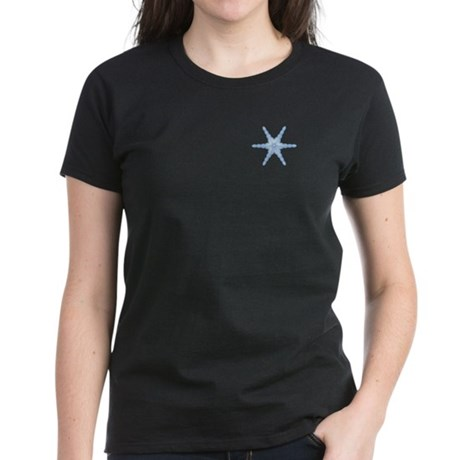 Flurry Snowflake III Women's Dark T-Shirt