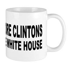 Anti-Hillary White House Mug