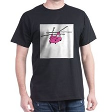 CH-47 Pink T-Shirt