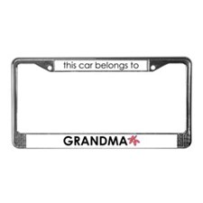 Grandma's License Plate Frame