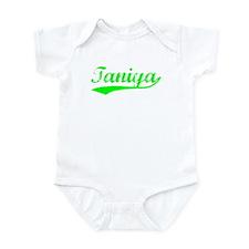 Vintage Taniya (Green) Infant Bodysuit