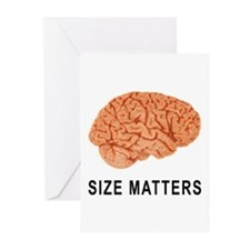Size Matters Greeting Cards (Pk of 20)