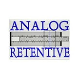 ANALOG RETENTIVE Rectangle Magnet (100 pack)