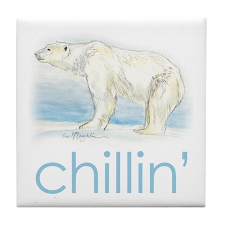 chillin' Tile Coaster