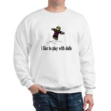 Voodoo Doll Sweatshirt