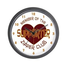 Supporter Wall Clock