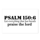 Psalms 150:6 (pl) Postcards (Package of 8)