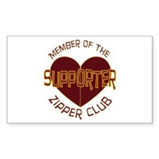 Supporter Rectangle Sticker 10 pk)