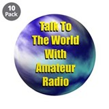 "Talk To The World 3.5"" Button (10 pack)"