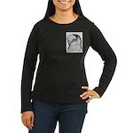 Reinaugen Pigeon Women's Long Sleeve Dark T-Shirt