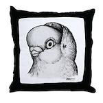 Reinaugen Pigeon Throw Pillow