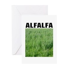 Alfalfa Greeting Card