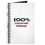 100 Percent Childcare Worker Journal