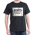 100 Percent Childcare Worker Dark T-Shirt