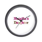 Natalia's Daughter Wall Clock