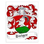Steiger Family Crest Small Poster