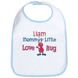 Liam - Mommy's Love Bug Bib