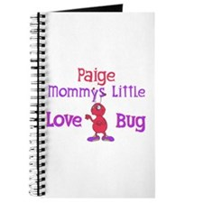 Paige - Mommy's Love Bug Journal