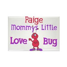 Paige - Mommy's Love Bug Rectangle Magnet
