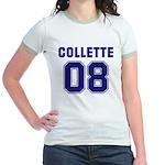 Collette 08 Jr. Ringer T-Shirt